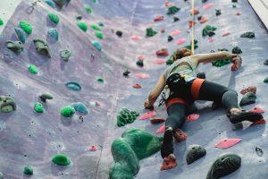 Health benefits of indoor rock climbing